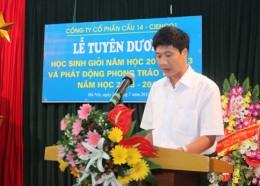 lễ tuyên dương học sinh giỏi năm học 2012 – 2013